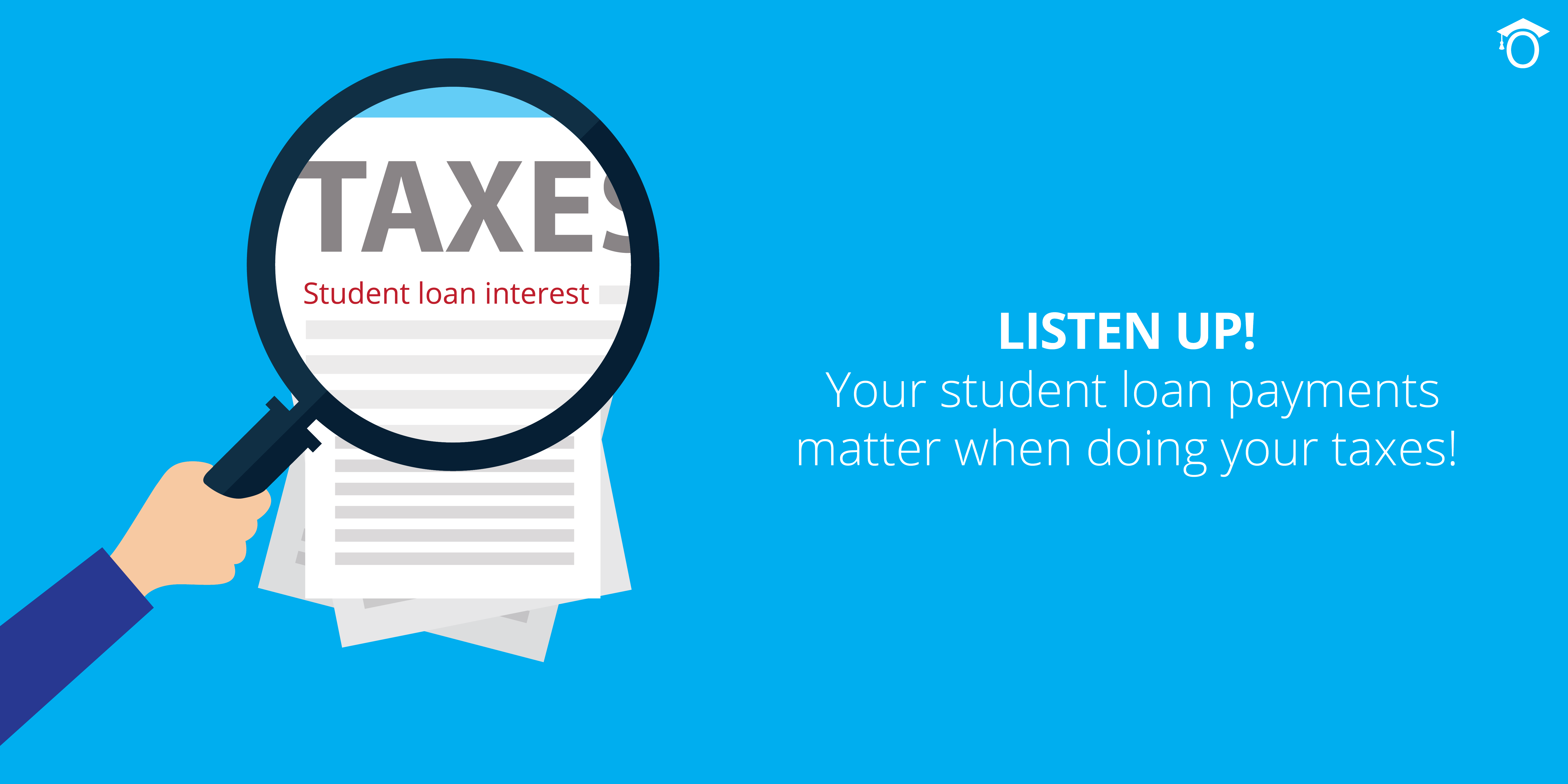 Remember your student loan interest on your taxes - iontuition