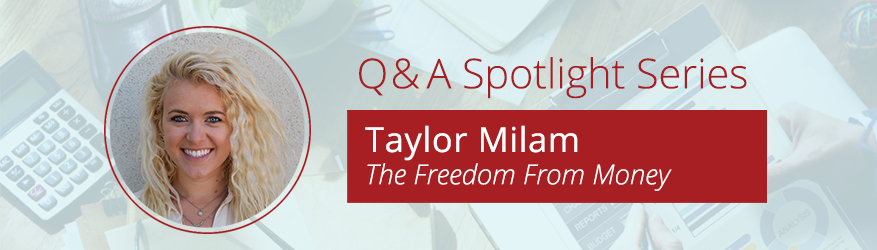 Q&A Spotlight: The Freedom From Money