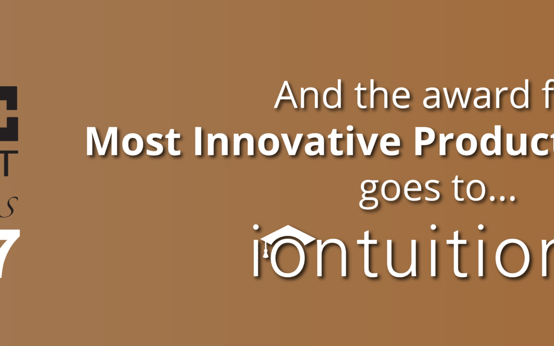 IonTuition Awarded Most Innovative Product of the Year