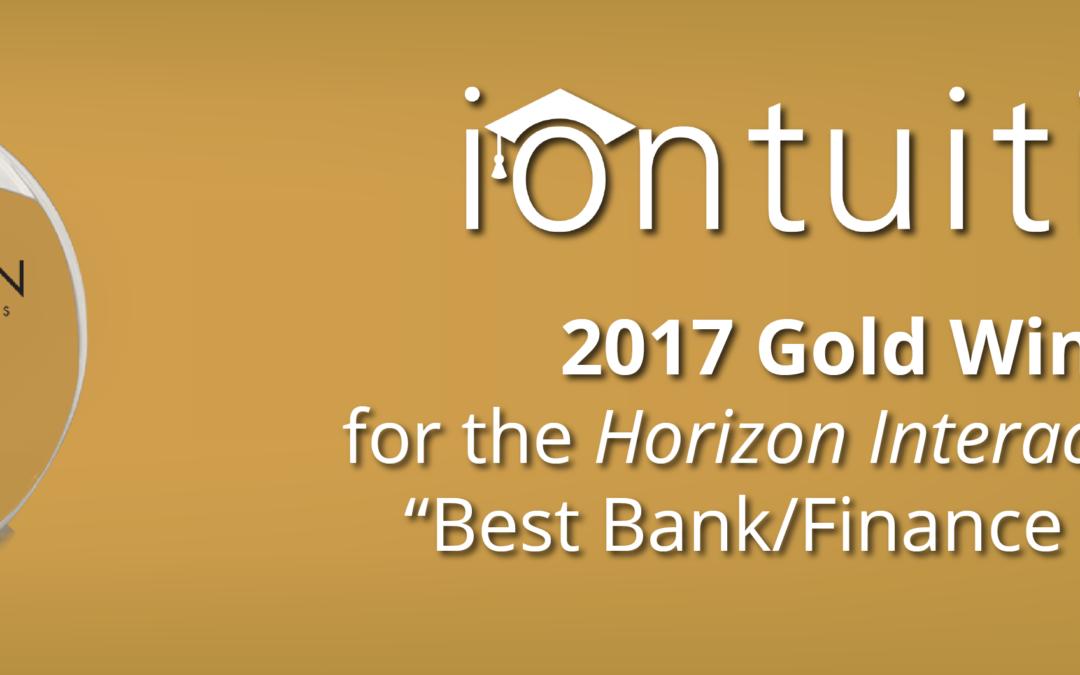 IonTuition: Gold Winner for Best Bank/Finance Website
