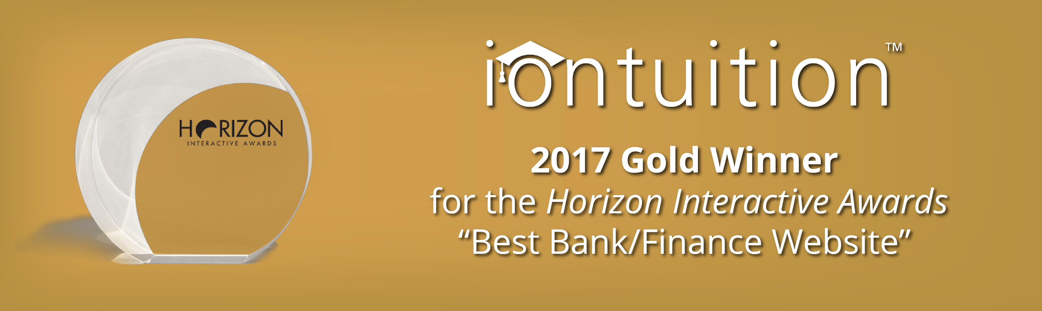 IonTuition: Gold Winner for Best Bank/Finance Website