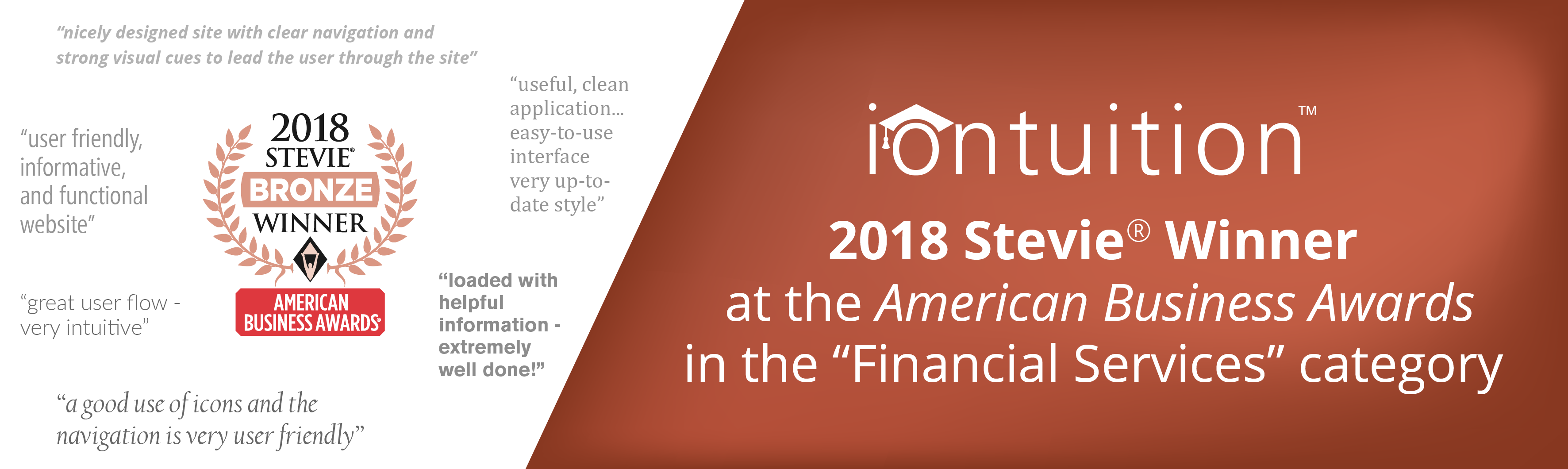 IonTuition: Winner at 2018 American Business Awards®
