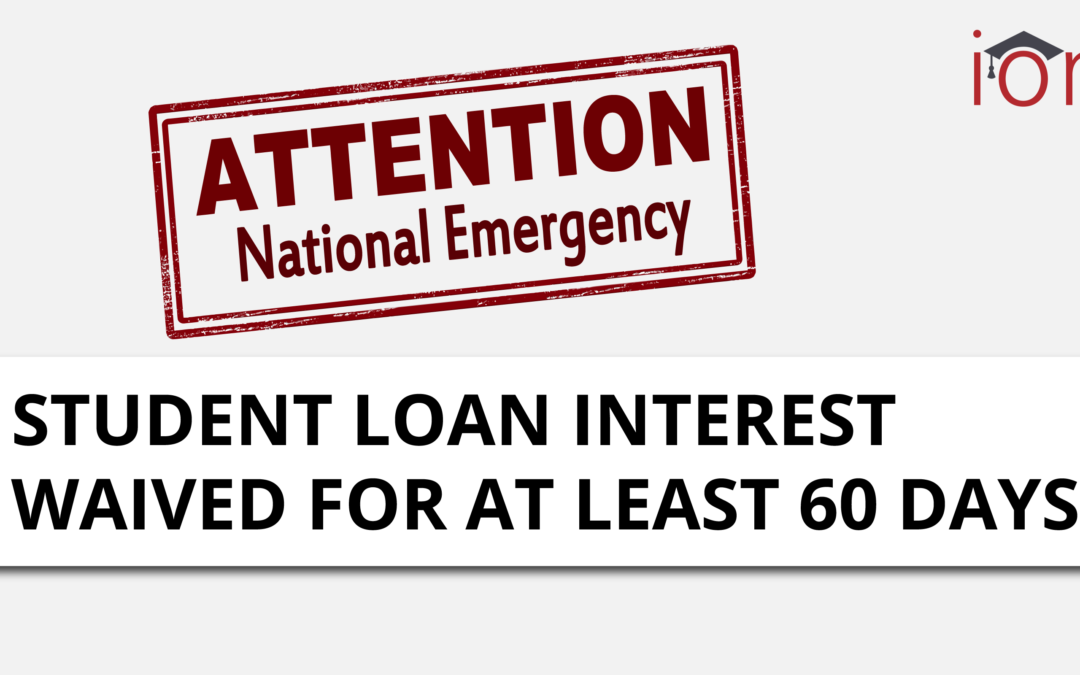Details Released from Dept. of Education on Federal Student Loan Interest Waiver