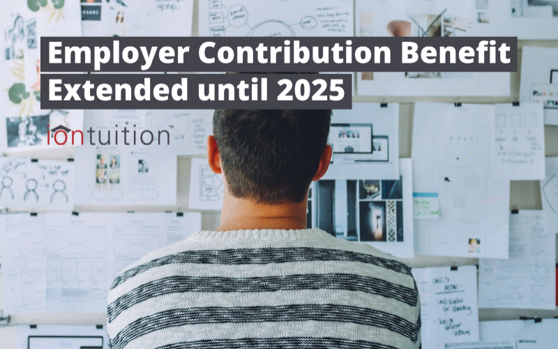 Employer Contribution Benefit Extended until 2025